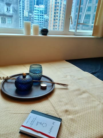 1 Private BR,Share Flat,Cozy n Clean, Subway (Y1) - Kowloon - 公寓