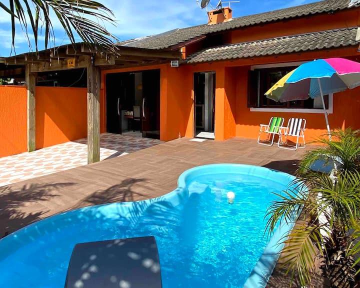 Casa de Praia com piscina em Tramandaí!