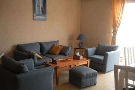 2 bed/1.5 bath/pool-view terrace - Dar Bouazza