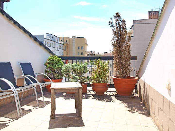 City Center Apartm. in Prague with balcony - no2