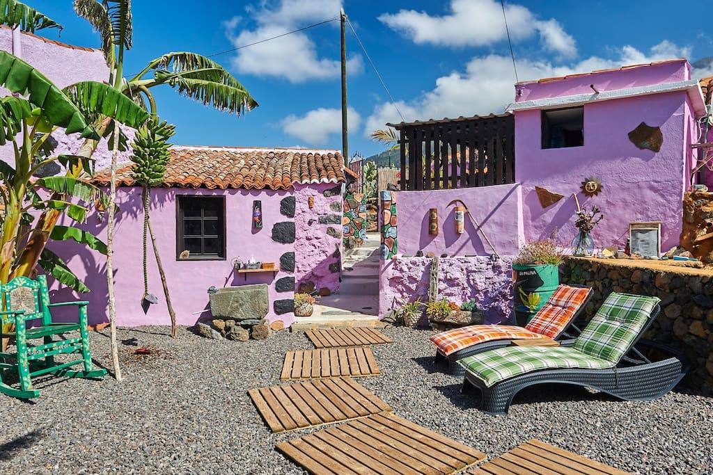 Casa Nieves Houses For Rent In El Paso La Palma