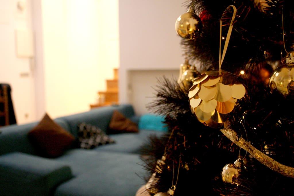 Christmas decorations pics! · ¡Primeras fotos de la decoración navideña!:)