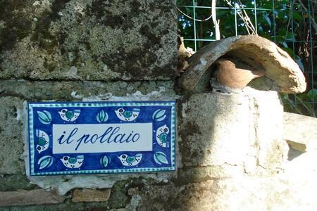 cottage Il pollaio vicino Roma e VT - Montevirginio