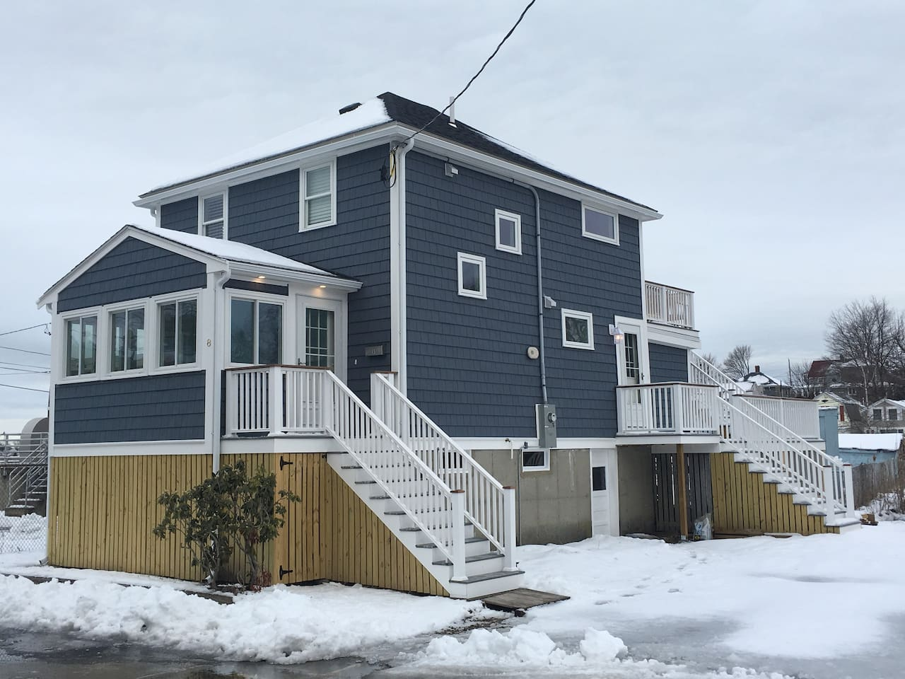 Newly remodeled home in desired North Weymouth neighborhood overlooking a marsh and ocean