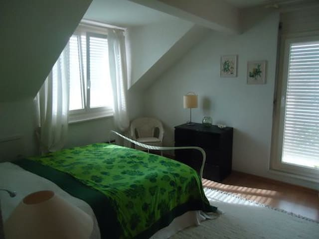 Comfortable room + own bathroom - Begnins - Appartement