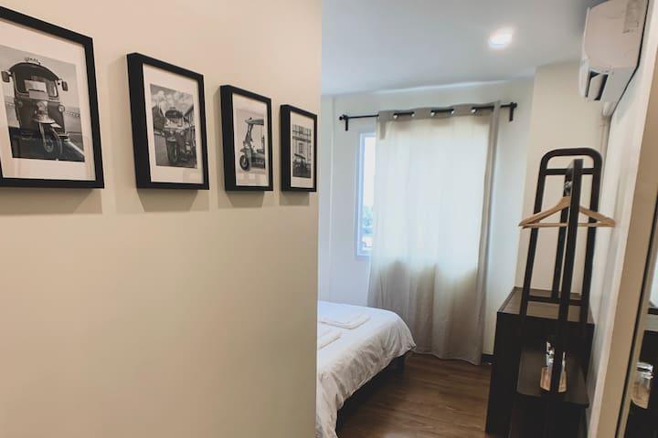 DB#2 Loft & Cozy room in central of BKK - Near BTS