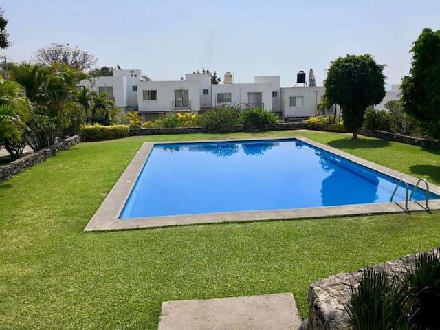 Casa de descanso y diversión, Oaxtepec, Mor.