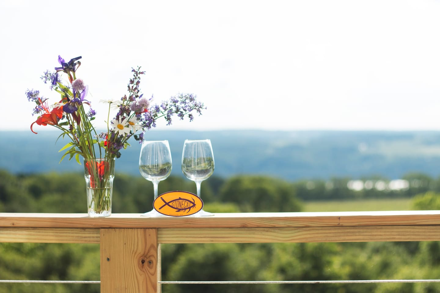 Stunning vineyard views from your own private balcony.