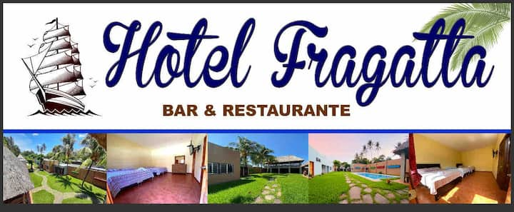 Hotel y Restaurante Fragatta, El Cuco, San Miguel