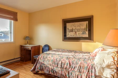 Bedroom furnished- Lots of Light. - Montreal