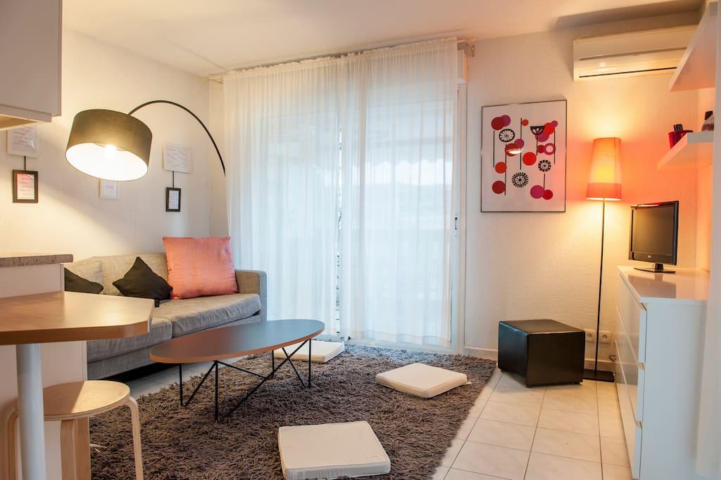 Appart 40m moderne et confortable appartements louer - Appartement moderne confortable douillet ...