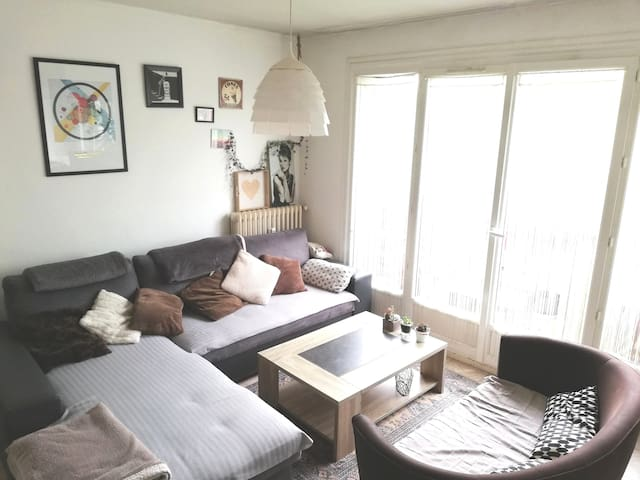 Appartement Caen nord, 6 couchages