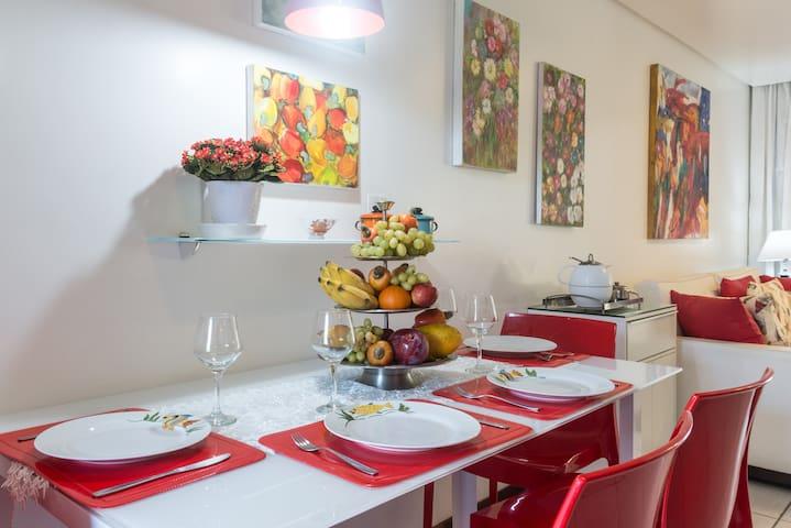 Flat Luxo terreo -Nannai Residence- Porto Galinhas