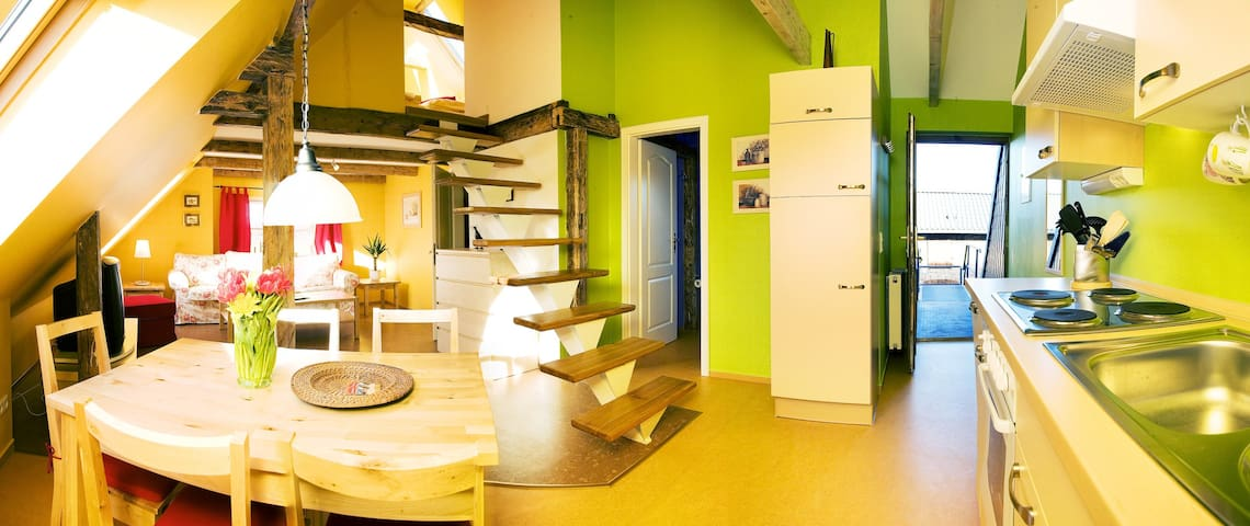 Birdshouse Gobbin/Rügen Island Swan - Lancken-Granitz - Apartamento