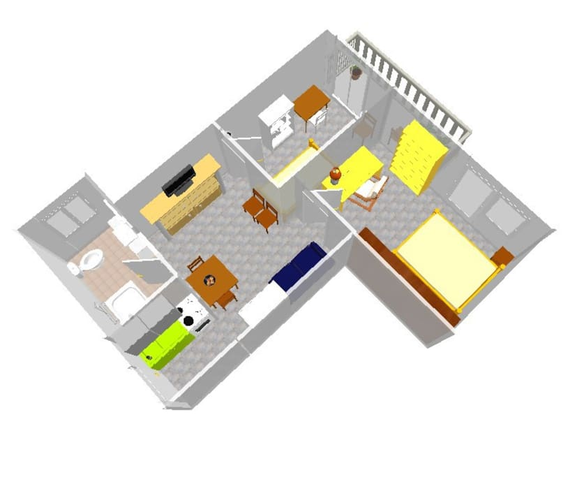 San Calepodio Internet Apartment