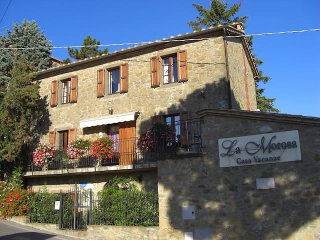 LA MOROSA VacationHouse Apt.Glicine - Castel Rigone - Apartamento