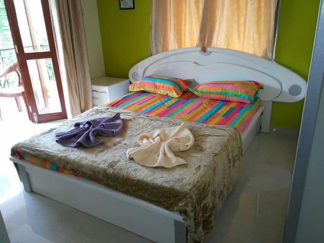 Comfortable 2BHK apt @ Parth Holiday Homes Sailgao - Saligao - Apartamento