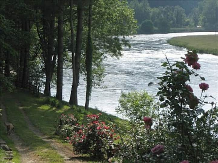Riverfront Home on NC's New River
