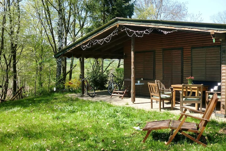 Dog-friendly holiday home in the Knüll with covered terrace