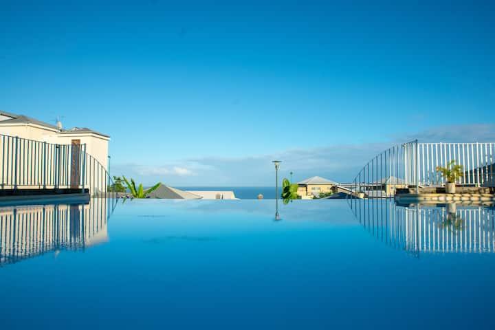💛💛Ti'Rocq, piscine, vue mer et standing💛💛