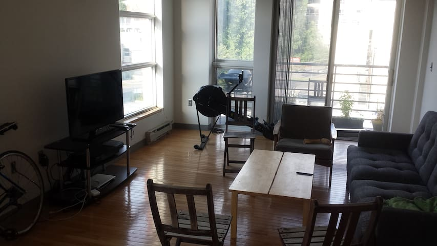 Private room in great downtown location - Ithaca - Leilighet