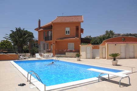 villa in campagna con piscina circo - Raffadali - Villa
