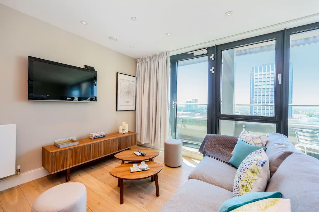 Living room - TV Set