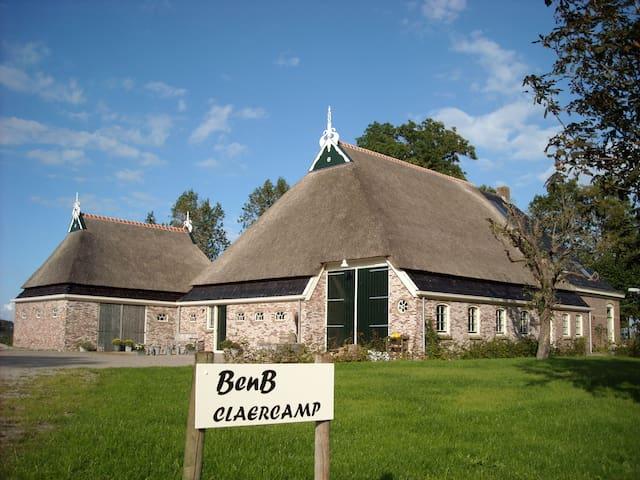 Farmhouse Claercamp, De Lekenbroeder - Rinsumageast