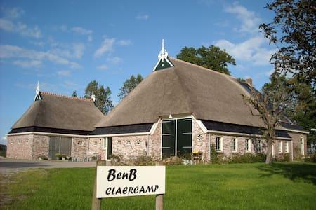 Farmhouse Claercamp, De Lekenbroeder - Rinsumageast - อพาร์ทเมนท์