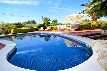 AIGUESVERDS VILLA ** PRIVATE POOL & Wi-Fi FREE ** - Reus - Villa