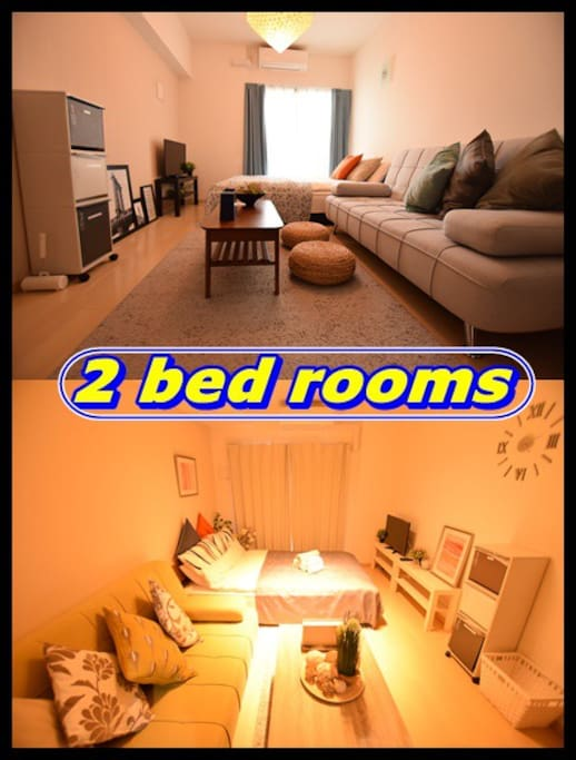 2 bed rooms!