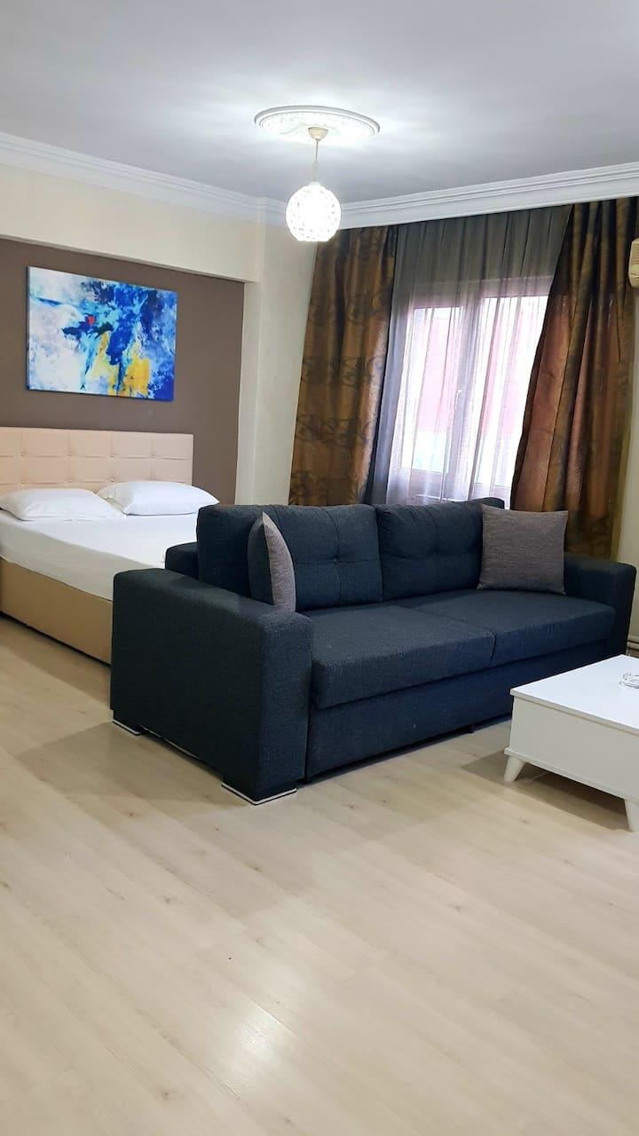 1 + 0 comfortable apartment near the stadium