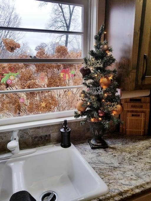 Tis the season here at getaway Cottage beautiful home festive romantic inviting and fun