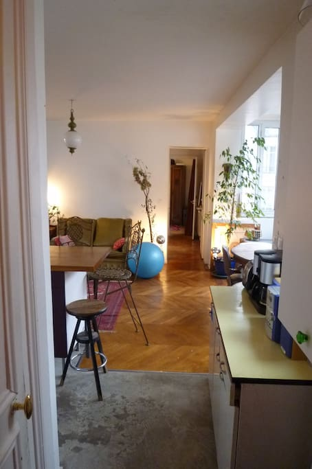 view of the appartement from the entrance