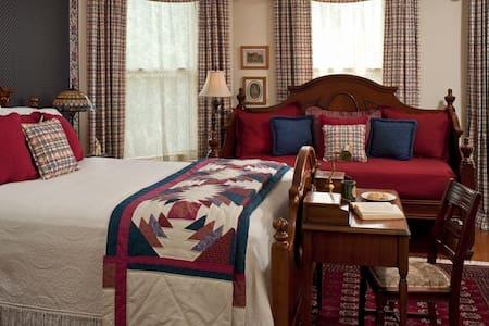 The Oaks Victorian Inn - Bonnie Victoria Room - Christiansburg - Aamiaismajoitus