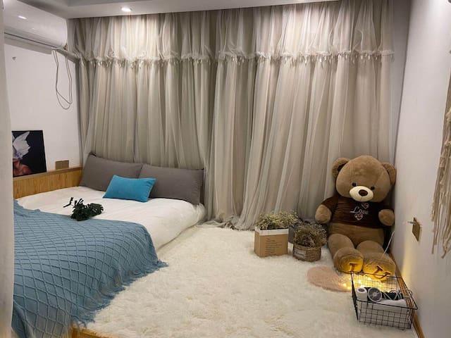 Tong熊少女房~长相思(南禾小宅)包空调
