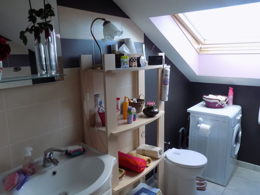 salle de bains/wc privés