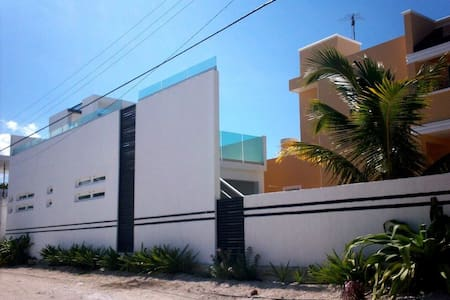 Confortable house on the beach! - Chicxulub Puerto