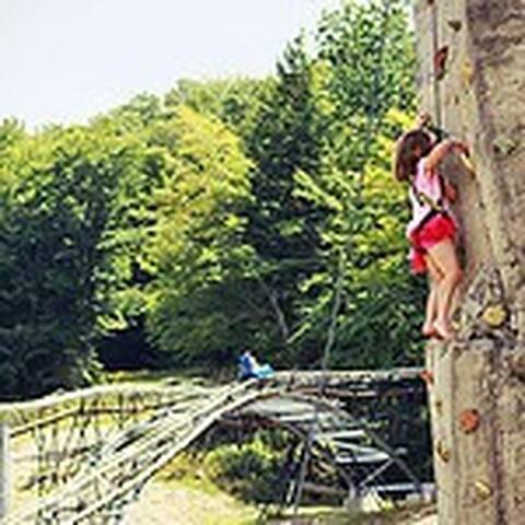 Attitash Climbing wall