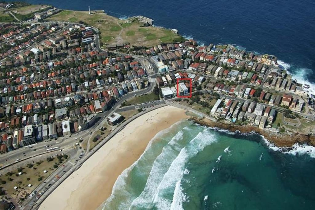 No other apartment block is closer to Bondi's golden sand.