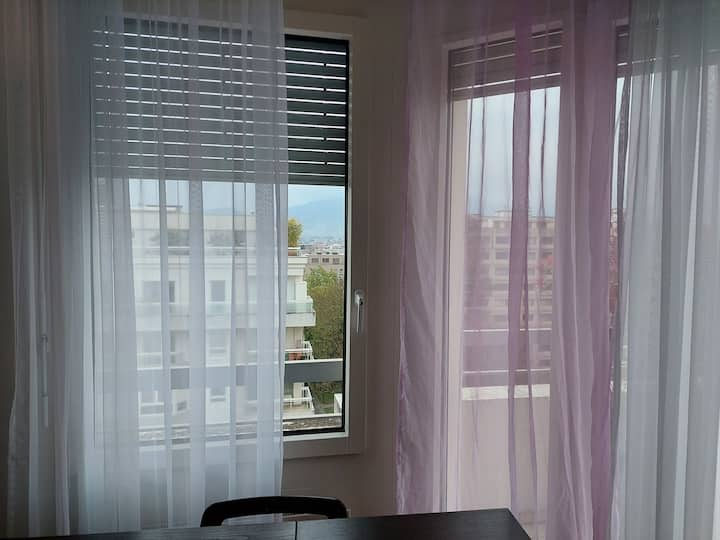 Furnished Beautiful 2 bedroom flat Geneva center.
