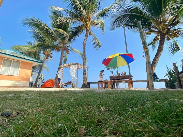 One Beachfront Room in Daanbantayan