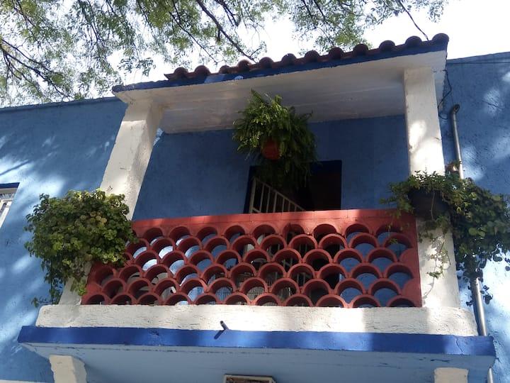 El Balcón de Frida Histórico acogedor central 3BR