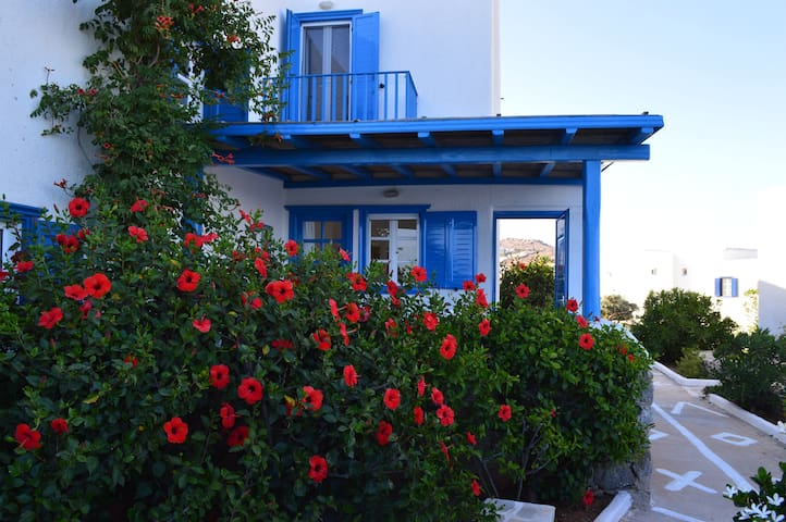 Beautiful house on private beach  - Ornos - House