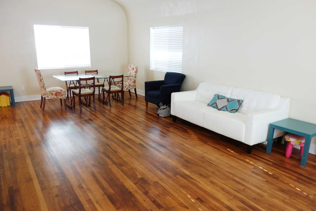 Combined Living/Dining area