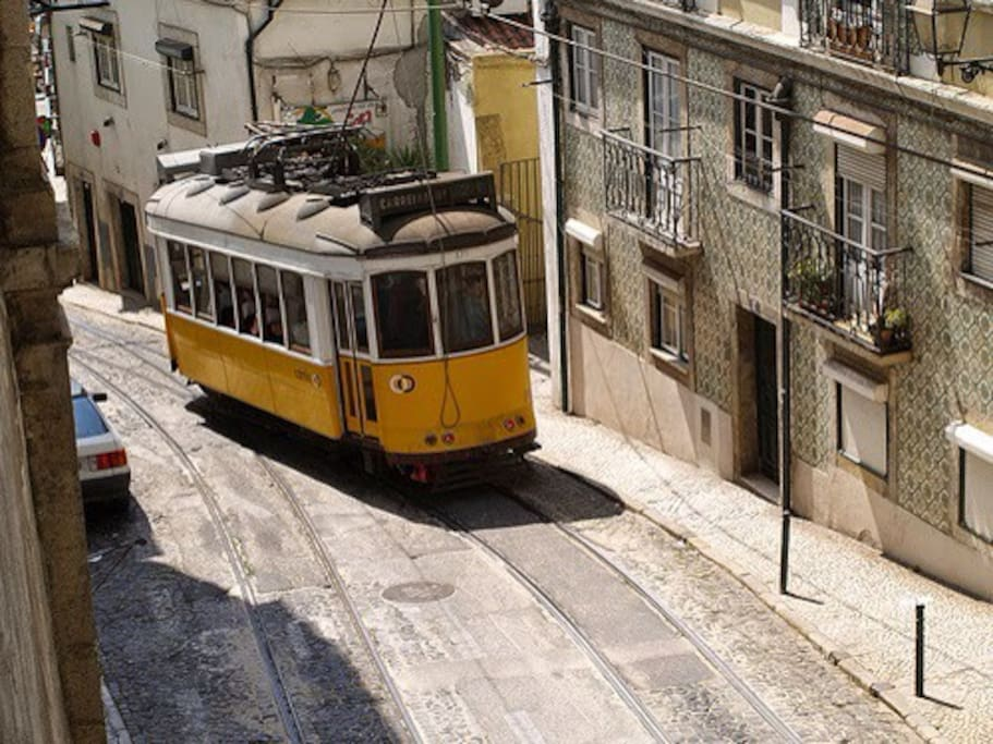 the street apartment