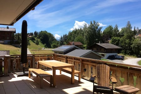 Cosy apartment in Haute Nendaz, Swiss Alps - Nendaz - Apartment