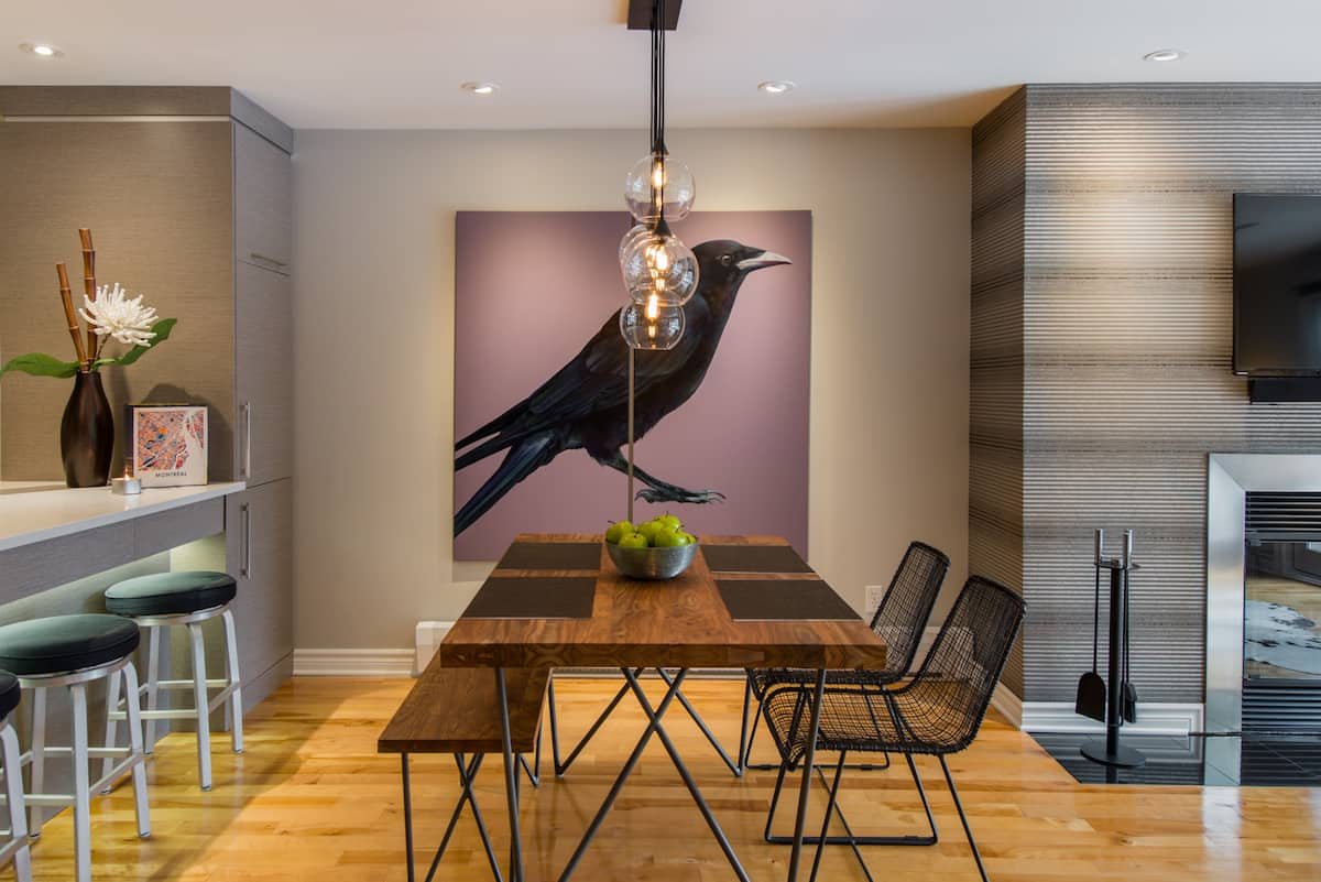 Warm, Stylish Condominium near Montreal's Saint Catherine St