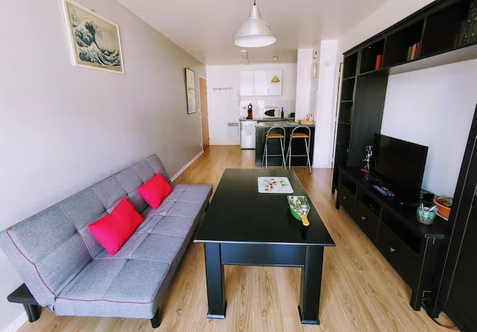 Appartement T2 Rennes centre (le Thabor)
