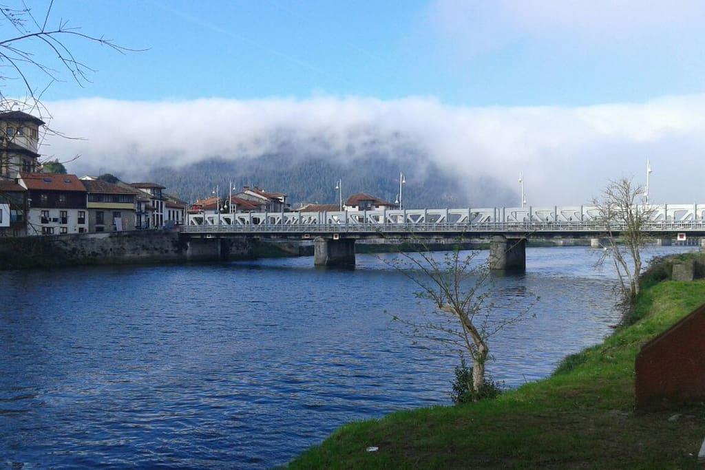 puente que separa cantabria y Asturias
